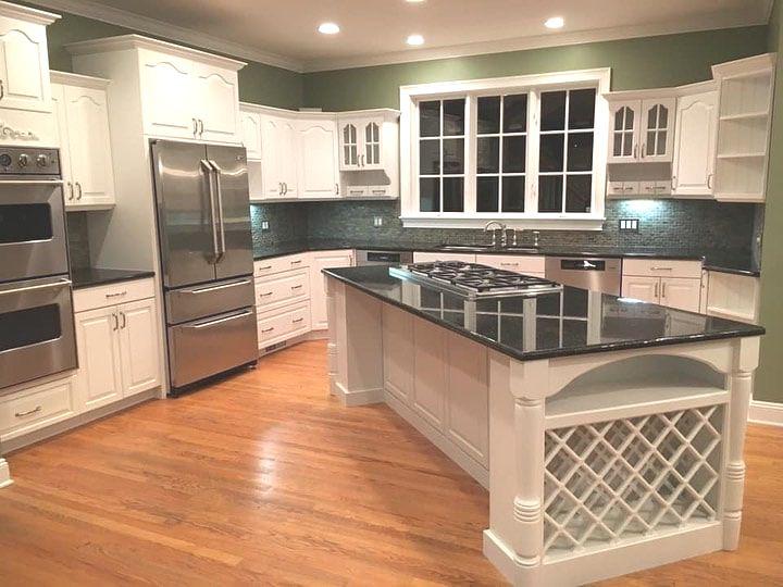 Cabinet Refinishing CT Cabinet Spraying CT Kitchen Cabinets CT by Cheshire CT Hawksview Services